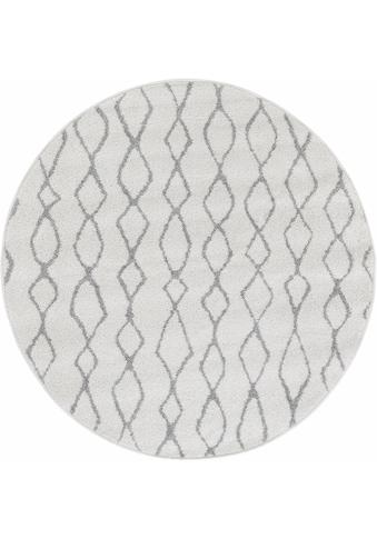 Teppich, »Bolonia 92«, Andiamo, rund, Höhe 6 mm kaufen