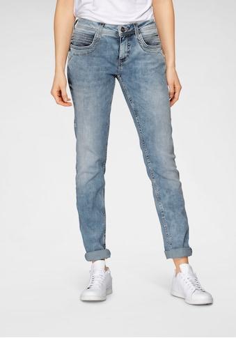 STREET ONE Slim-fit-Jeans »Crissi«, mit umweltbewusster Waschung kaufen