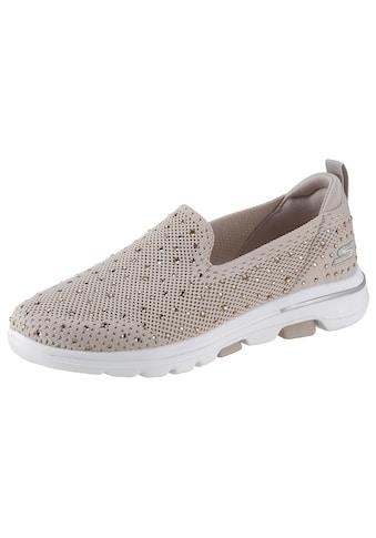 Skechers Slip - On Sneaker »Go Walk 5  -  Limelight« kaufen