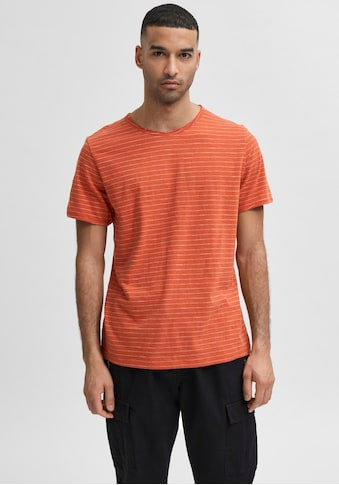 SELECTED HOMME T-Shirt »MORGAN STRIPE O-NECK TEE« kaufen