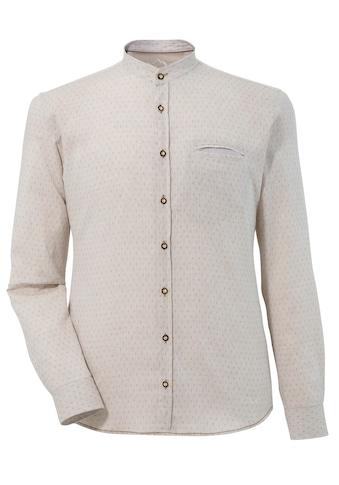 Murk Trachtenhemd, mit feinem Muster kaufen