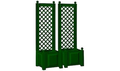 Spalier »mit Pflanzkasten 43cm, grün« kaufen