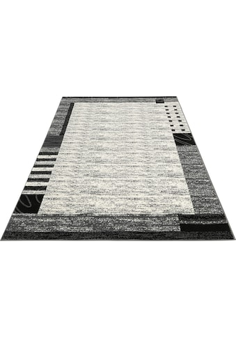 my home Teppich »Jonas«, rechteckig, 8 mm Höhe, mit Bordüre, Wohnzimmer kaufen