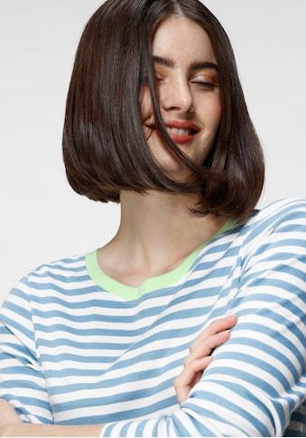 GOODproduct Langarmshirt, nachhaltig aus zertifizierter Bio-Baumwolle kaufen