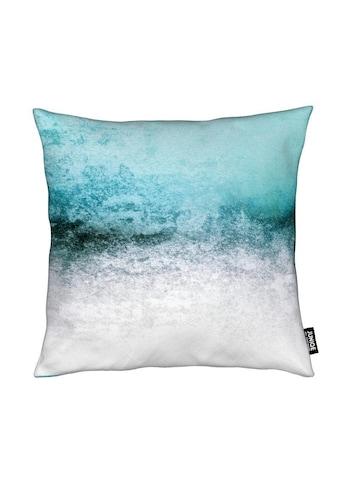 Dekokissen, »Snowdreamer Aqua«, Juniqe kaufen