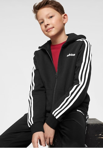adidas Performance Kapuzensweatjacke »YOUNG BOY ESSENTIAL 3 STRIPES FULLZIP HOODY« kaufen