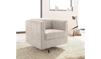 INOSIGN Sessel »Bob«, drehbar mit Sternfuss kaufen