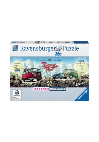 Ravensburger Puzzle »Mit dem VW Bulli über den Brenner« kaufen