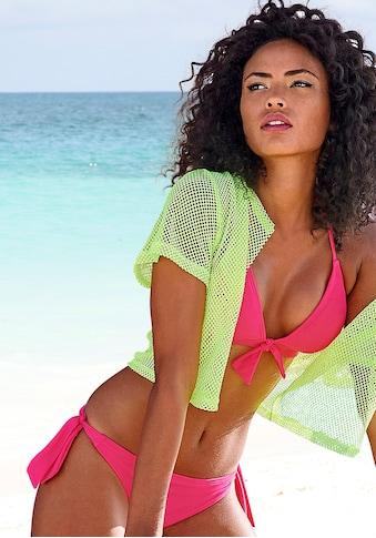 Venice Beach Triangel-Bikini, mit Zierschleife kaufen