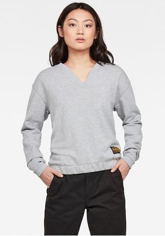 G-Star RAW Sweatshirt »Venarux Xzyph R Sweatshirt«, mit gerippten Rundhalsausschnitt... kaufen