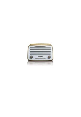 DAB+ Radio, Lenco, »DAR - 012 Weiss Hellbraun« kaufen