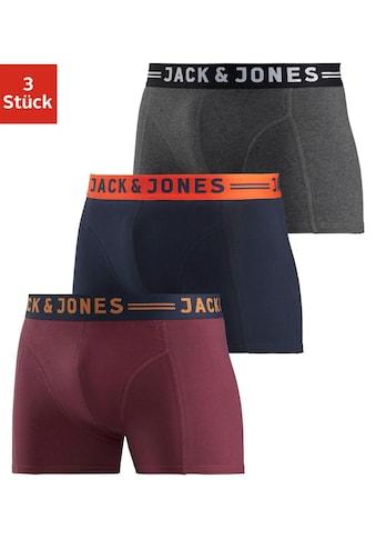 Jack & Jones Boxer »JAC Lichfield Trunks« (3 Stück) kaufen