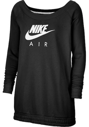 Nike Sportswear Sweatshirt »WOMEN NIKE SPORTSWEAR AIR CREW FLEECE PLUS SIZE« kaufen