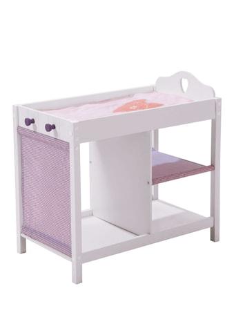 """Roba® Puppenwickeltisch """"Weiss - Lila"""" kaufen"""