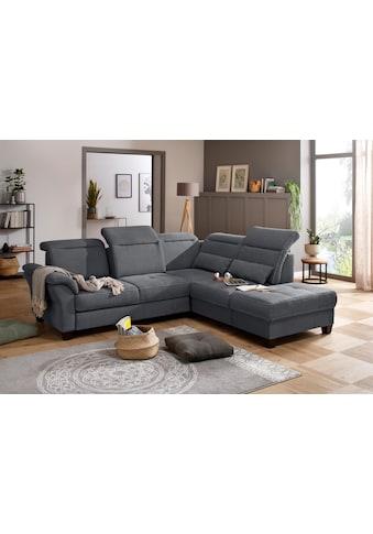 Premium collection by Home affaire Ecksofa »Solvei«, mit Ottomanenabschluss und... kaufen