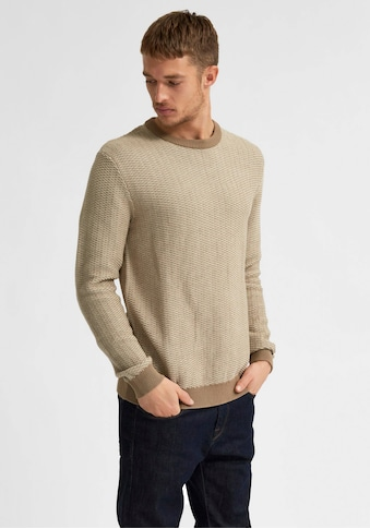 SELECTED HOMME Rundhalspullover »AIDEN CREW NECK« kaufen