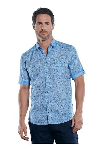 Engbers Floral gemustertes Leinen - Mix - Hemd kaufen