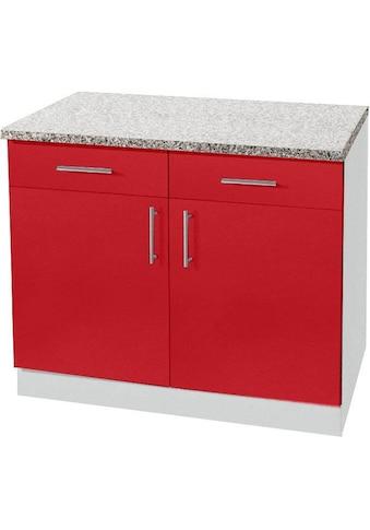 wiho Küchen Unterschrank »Kiel«, 100 cm breit, in Tiefe 60 cm kaufen