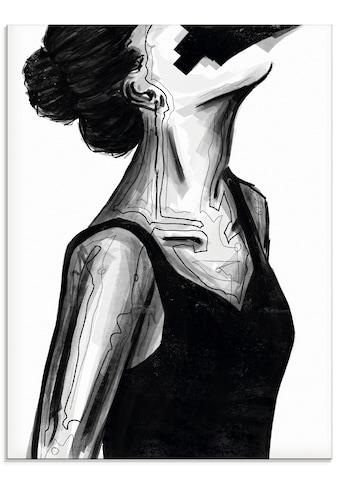Artland Glasbild »Schwarzes Kleid« kaufen