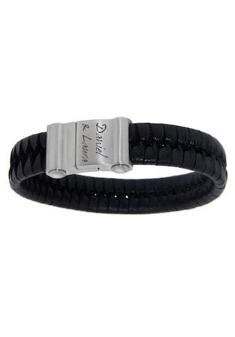 Firetti Armband mit Gravur »geflochten mit gratis Gravur« kaufen