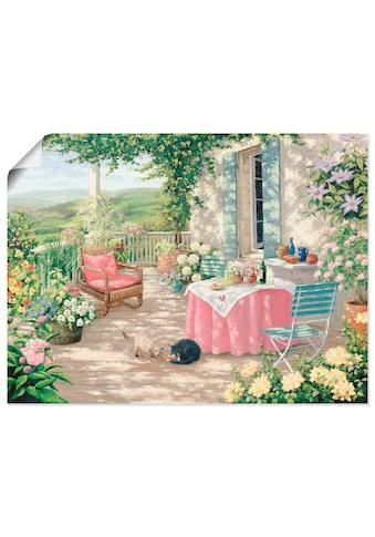 Artland Wandbild »Brunch«, Garten, (1 St.), in vielen Grössen & Produktarten... kaufen