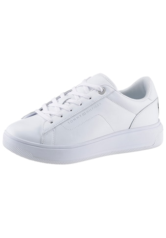 TOMMY HILFIGER Plateausneaker »LEATHER TOMMY HILFIGER CUPSOLE« kaufen