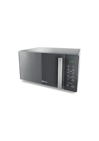 BAUKNECHT Mikrowelle »mit Grill MW 254 SM Schwarz«, Grill, 900 W kaufen