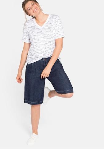 Sheego Jeansbermudas, elastisch kaufen