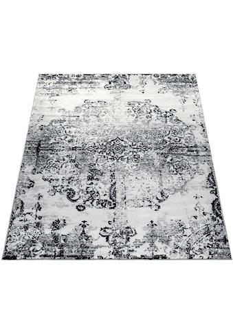 Paco Home Teppich »Tara 210«, rechteckig, 13 mm Höhe, Kurzflor, Vintage Design, Wohnzimmer kaufen