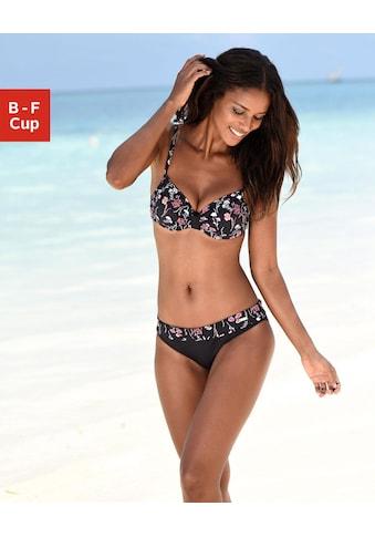 LASCANA Bügel-Bikini-Top »Bloom«, mit geraffter Mitte kaufen