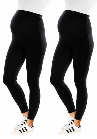 Neun Monate Umstandsleggings »Powered by Flashlights«, (Packung, 2 tlg.), lange Form kaufen
