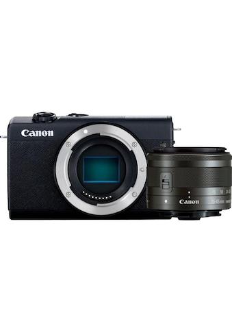 Canon Systemkamera »EOS M200 EF-M 15-45mm f3.5-6.3 IS STM Kit«, EF-M 15-45mm f/3.5-6.3... kaufen