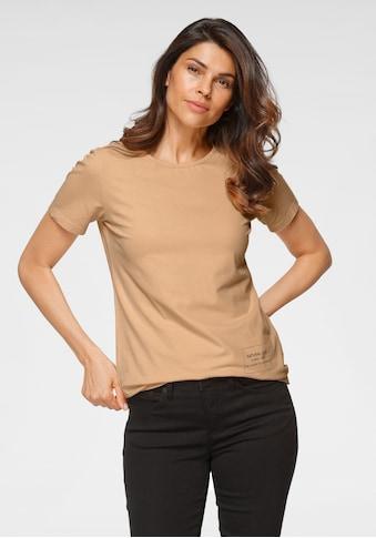 GOODproduct Kurzarmshirt »natürlich gefärbt mit CLAY-DYE«, GOTS zertifiziert -... kaufen