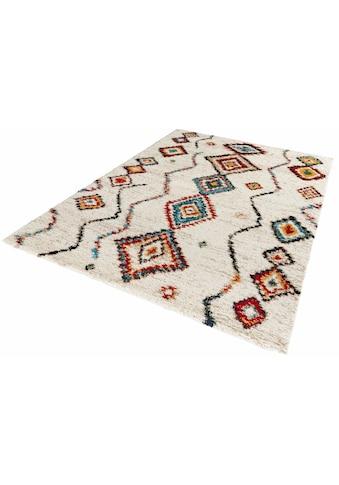 MINT RUGS Hochflor-Teppich »Geometric«, rechteckig, 30 mm Höhe, weiche Haptik, Wohnzimmer kaufen