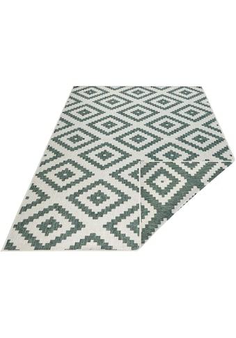 bougari Teppich »Malta«, rechteckig, 5 mm Höhe, In- und Outdoor geeignet, Wendeteppich, Wohnzimmer kaufen