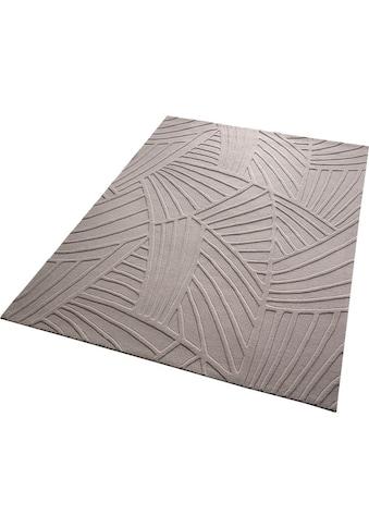 Esprit Teppich »Palmia«, rechteckig, 12 mm Höhe, reine Schurwolle, Wohnzimmer kaufen