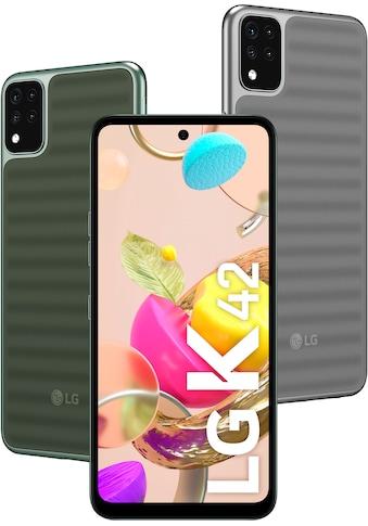 LG K42 Smartphone (16,76 cm / 6,6 Zoll, 64 GB, 13 MP Kamera) kaufen