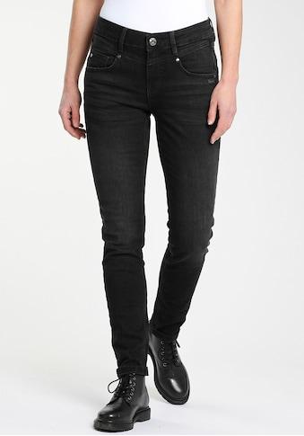 GANG Skinny-fit-Jeans »MARISSA«, mit modischer V-Passe vorn & hinten kaufen