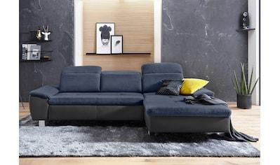 exxpo - sofa fashion Ecksofa, mit Bettfunktion kaufen