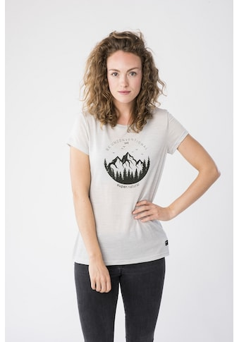 SUPER.NATURAL T-Shirt »W PRINTED TEE« kaufen