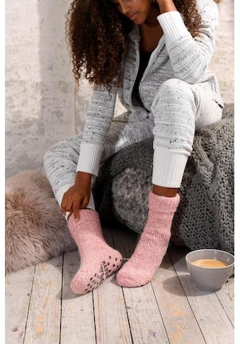 Sympatico ABS-Socken, (1 Paar), aus Strick mit rutschfester Sohle kaufen