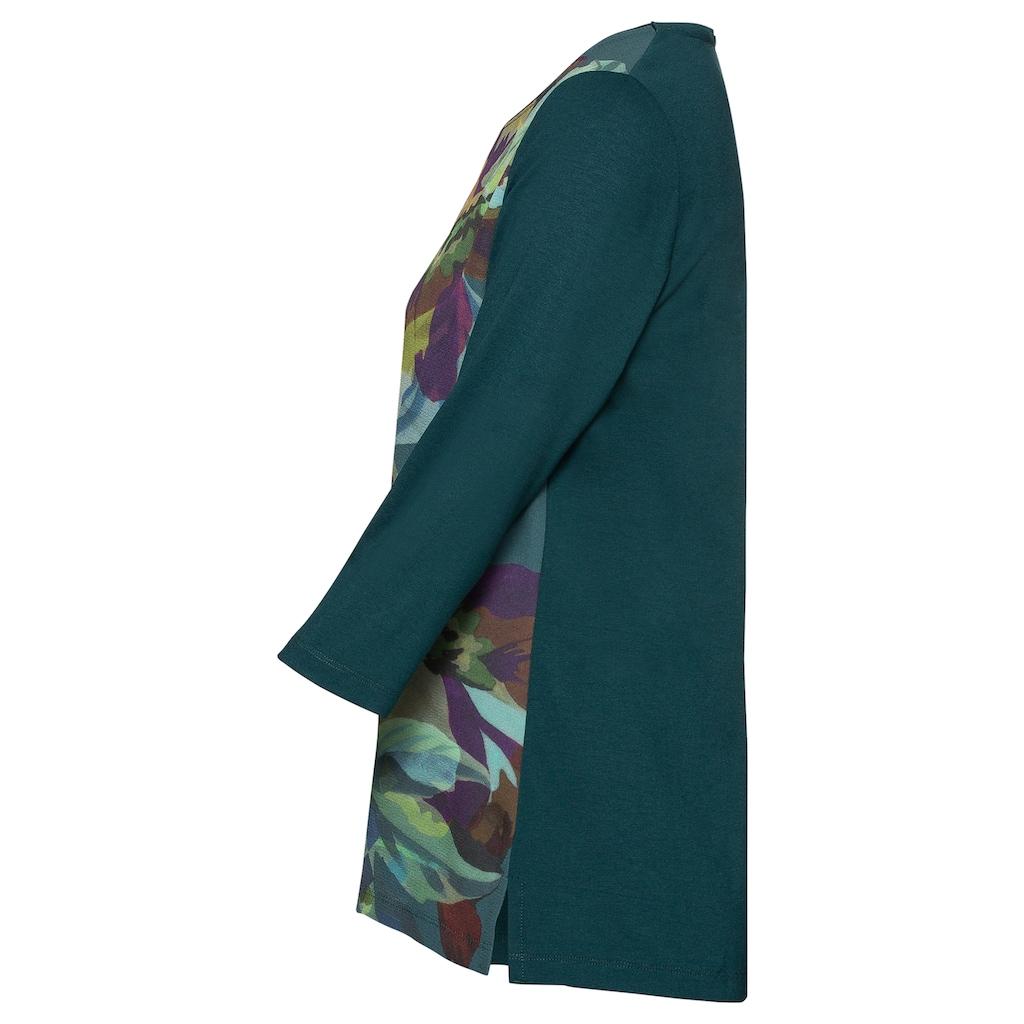 bianca Blusenshirt »DAMI«, mit floralem Front-Print