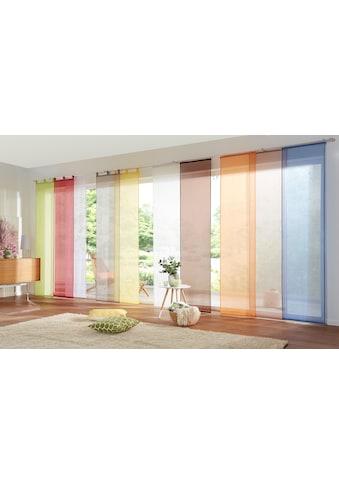 my home Schiebegardine »Xanten«, Fertiggardine, inkl. Beschwerungsstangen, transparent, Breite: 57 cm kaufen