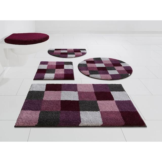 Badematte »Mosaik«, GRUND exklusiv, Höhe 20 mm, rutschhemmend beschichtet, fussbodenheizungsgeeignet