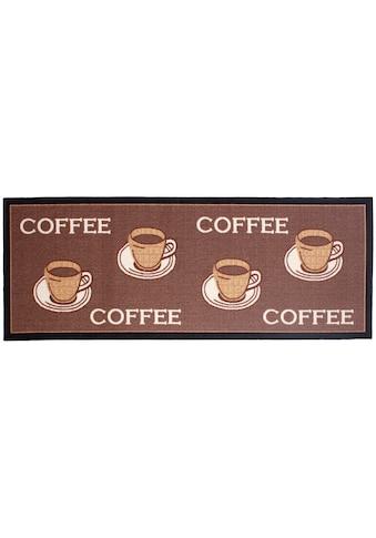 Küchenläufer, »Coffee«, Andiamo, rechteckig, Höhe 5 mm, maschinell getuftet kaufen