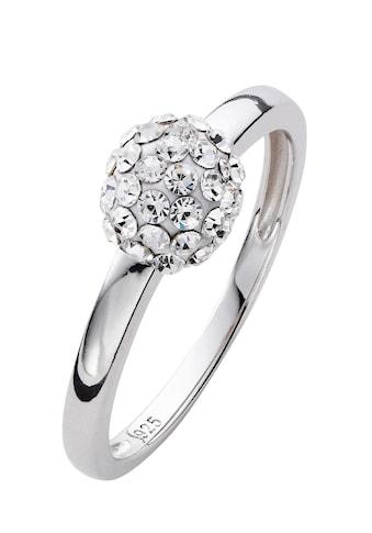 Lady Ring mit funkelnden Swarovsky - Kristallsteinen kaufen