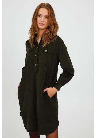 b.young Cordkleid »BYDINIA SHIRT DRESS - 20810397«, Cordkleid mit Hemdkragen kaufen