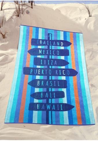 Strandtuch »Wegweiser« kaufen
