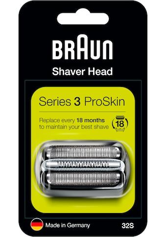 Braun Ersatzscherteil »Series 3 32B«, kompatibel mit Series 3 Rasierern kaufen