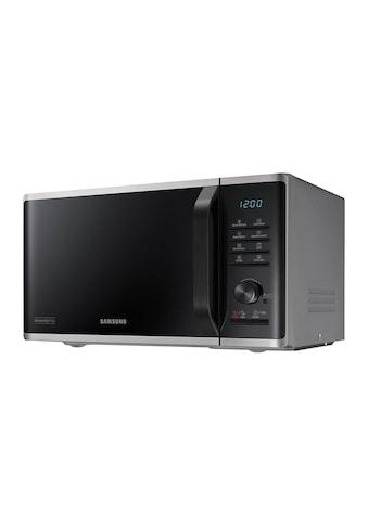 Mikrowelle Solo, Silberfarben 23 L, 800 W, Samsung, »MW3500« kaufen